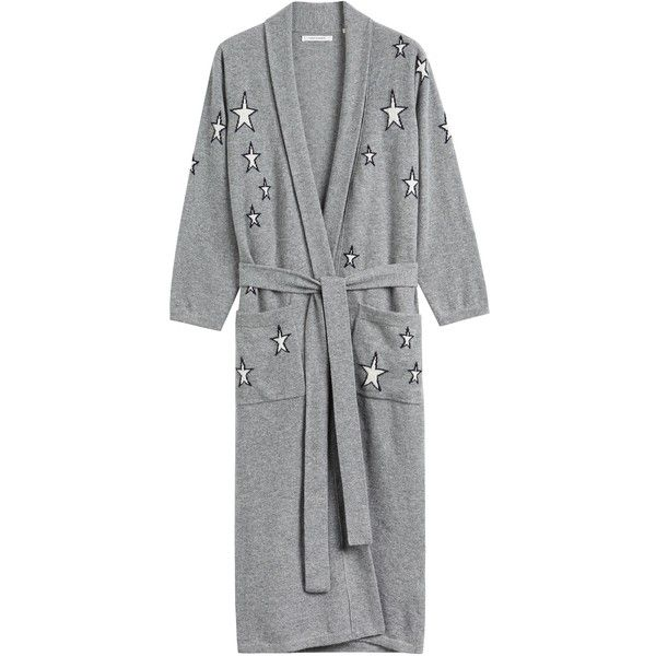 Silver Star Dressing Gown ($710) ❤ liked on Polyvore featuring ...