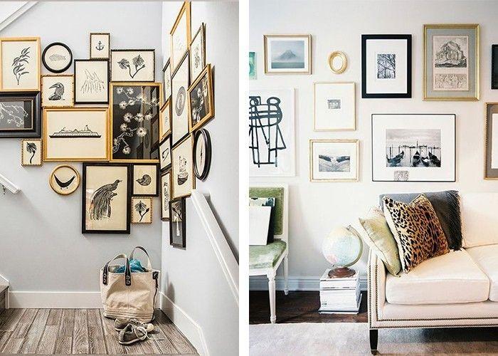 Fotowand selber machen wände gestalten ideen