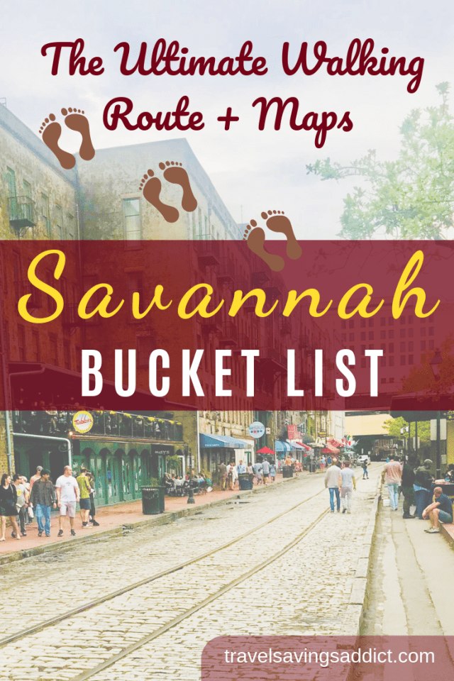 Savannah Georgia Travel Tips This Walking Tour Of Savannah Shows You The Best Things To Do In This Sout Savannah Chat Savannah Georgia Travel Travel Savannah