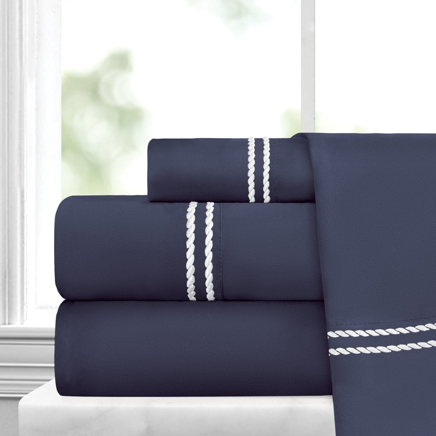 Restoration Collection 1500 Gusseted Gel Fiber Pillow 2 Pack by ienjoy Home