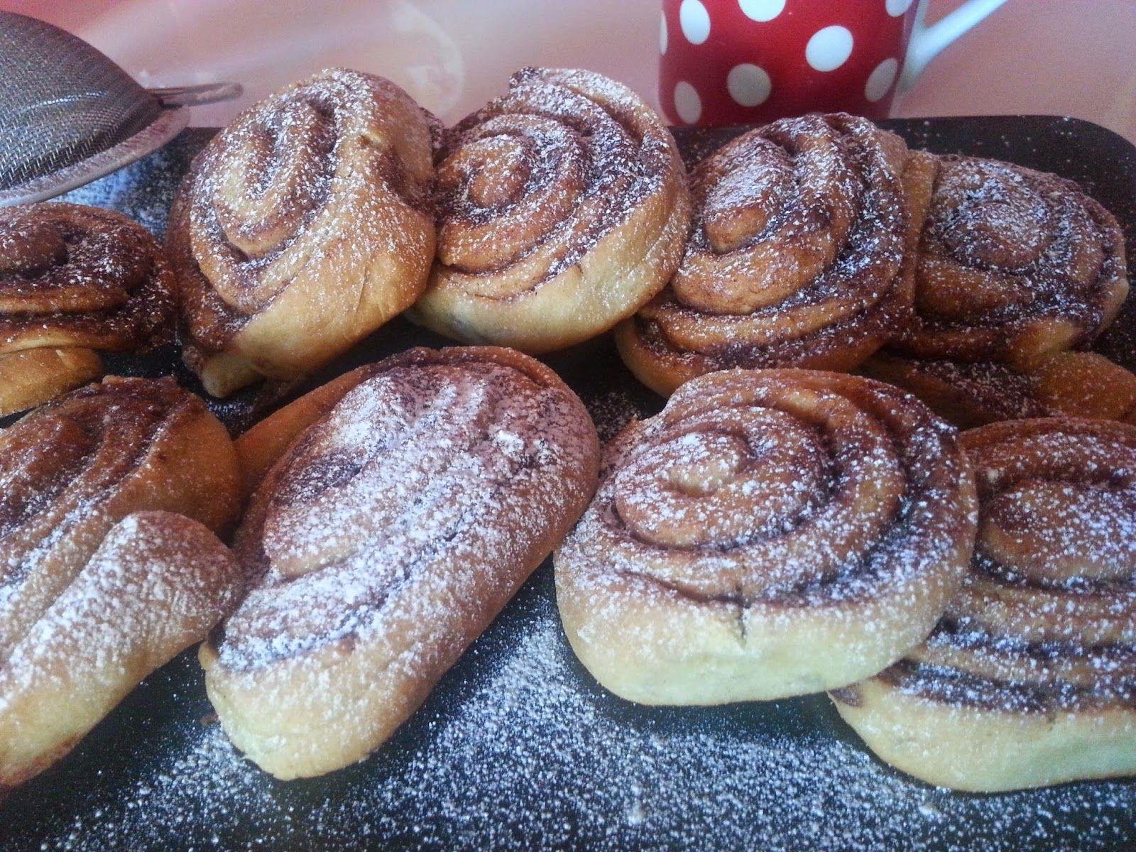 yummy sweets: Škoricové hniezda