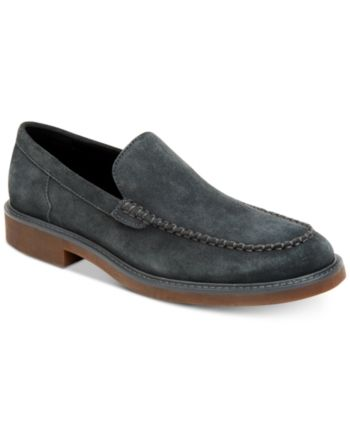 748962a6e20 Calvin Klein Men s Vance Suede Loafers - Gray 10 in 2019