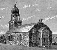 Old Dutch Church Kingston New York By 1790 Repairs To The