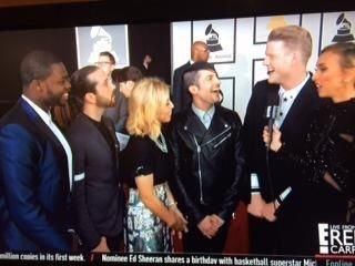 We can't even maintain our composure on National television  #GRAMMYs
