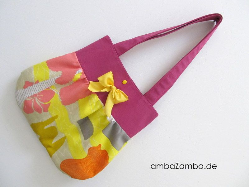 Ballontasche SÜßER HERBST Schultertasche Tasche