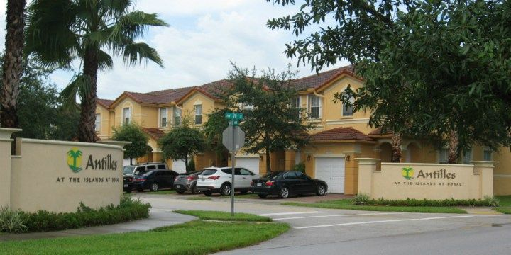 Antilles at the Islands at Doral townhouses