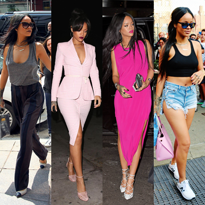 No one quite does it like Rihanna.