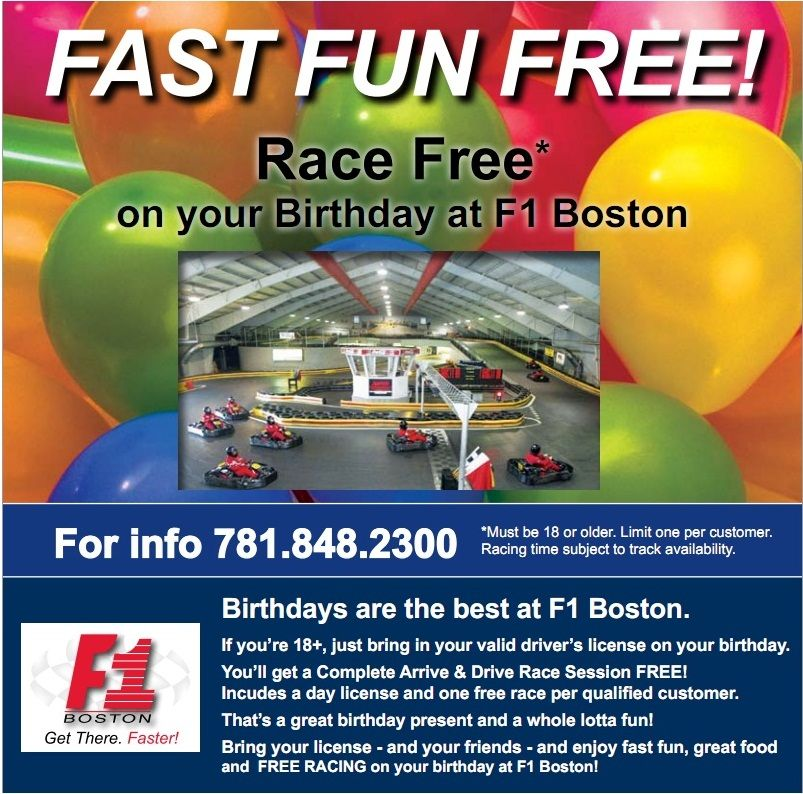 Pin on F1 Boston Kart Racing & Conference Center