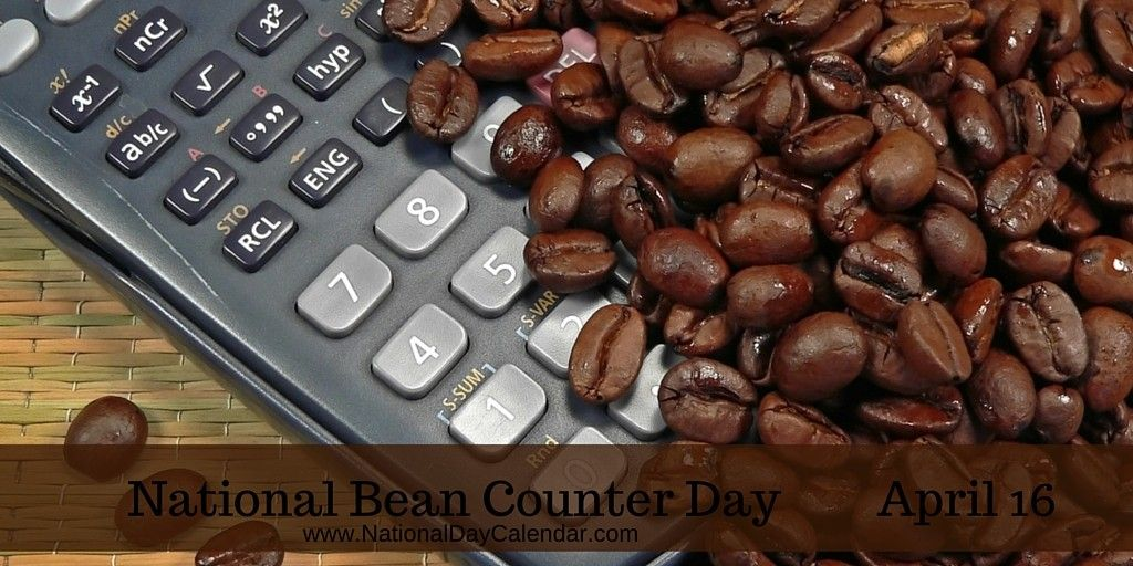 NEW DAY PROCLAMATION - NATIONAL BEAN COUNTER DAY - April 16