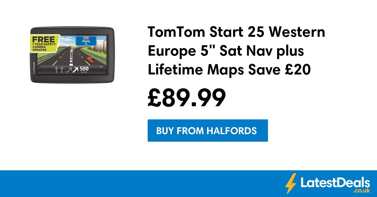 TomTom Start 25 Western Europe 5