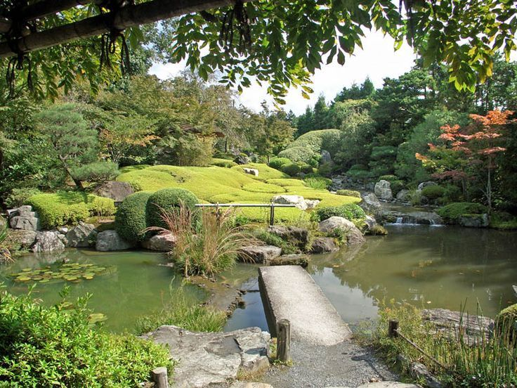 Myoshinji Temple Taizoin Tea Garden C. 1402 Japanese