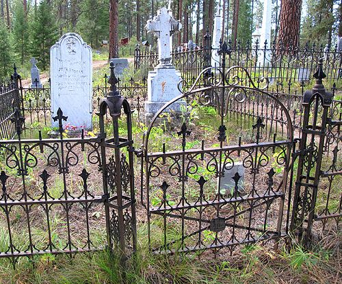 Wrought Iron Work Placerville Cemetery Wrought Iron
