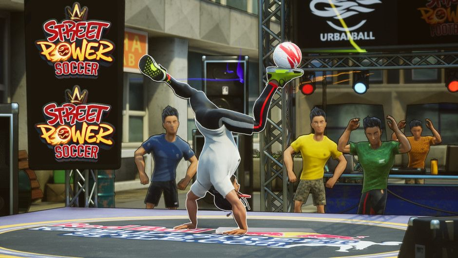Street Power Soccer is Bringing OvertheTop Style and