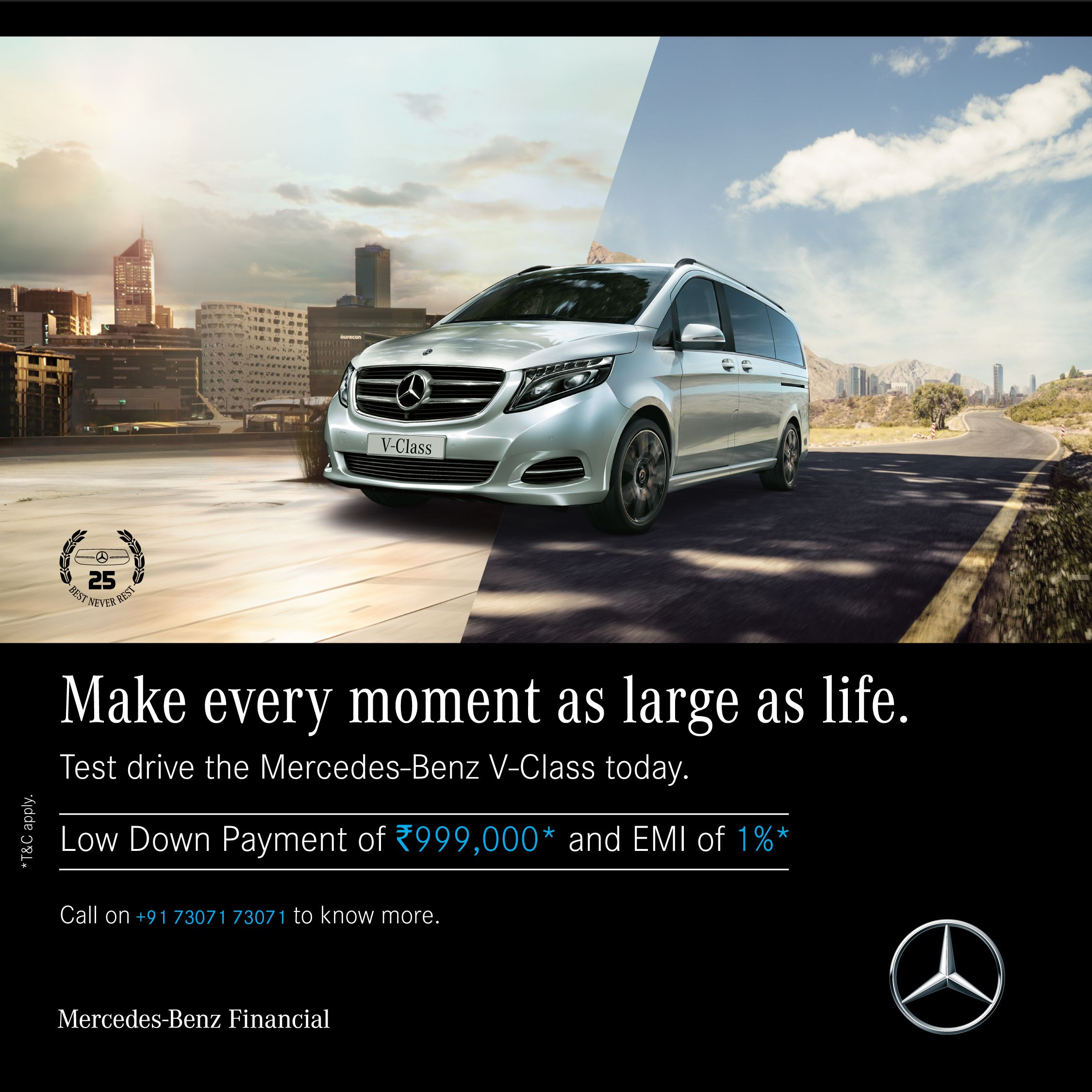 Some Landmarks Don T Stay At One Place The Mercedes Benz V Class Choose Panjab Motors Call 91 73071 73071 Mercedesbenz Pa Mercedes Benz Mercedes Benz