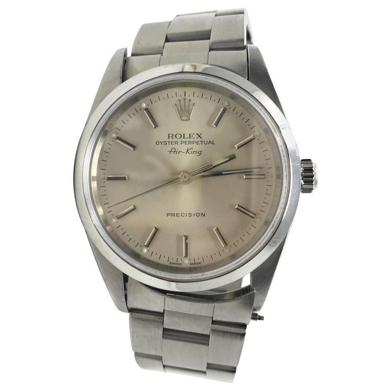 Vintage Rolex Air King Precision Stainless Steel #stainlesssteelrolex