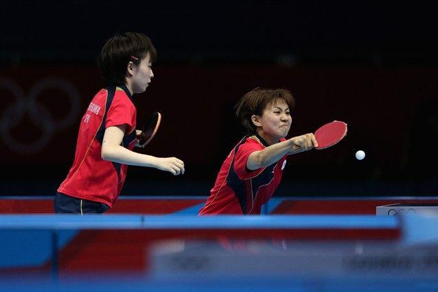 Women S Team Semi Final Japan Vs Singapore Table Tennis Slideshows Nbc Olympics Olympics Sports Singaporean