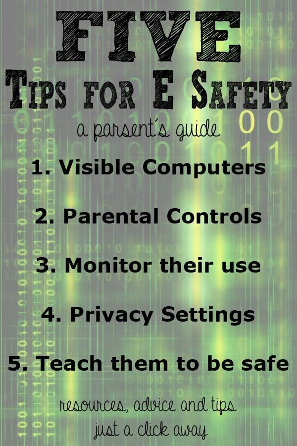 Esafety; A Parent's Guide with resources and 5 tips to do