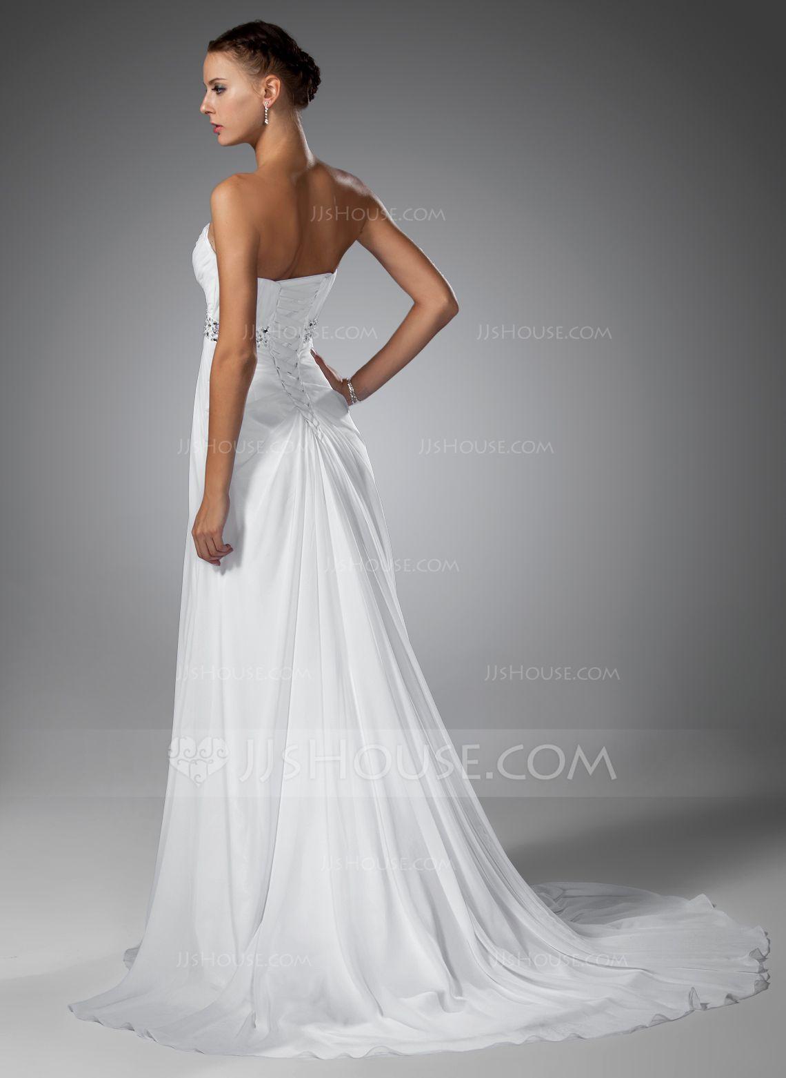 03a362f264f7 JJsHouse, världens ledande online-återförsäljare, erbjuder ett stort utbud  av bröllopsklänningar, bröllopsfestklänningar