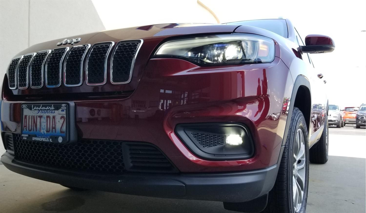 Congratulations And Best Wishes Rhonda On The Purchase Of Your 2018 JEEP  CHEROKEE! We Sincerely Appreciate Your Business, Landmark Chrysler Jeep  Fiat And ...