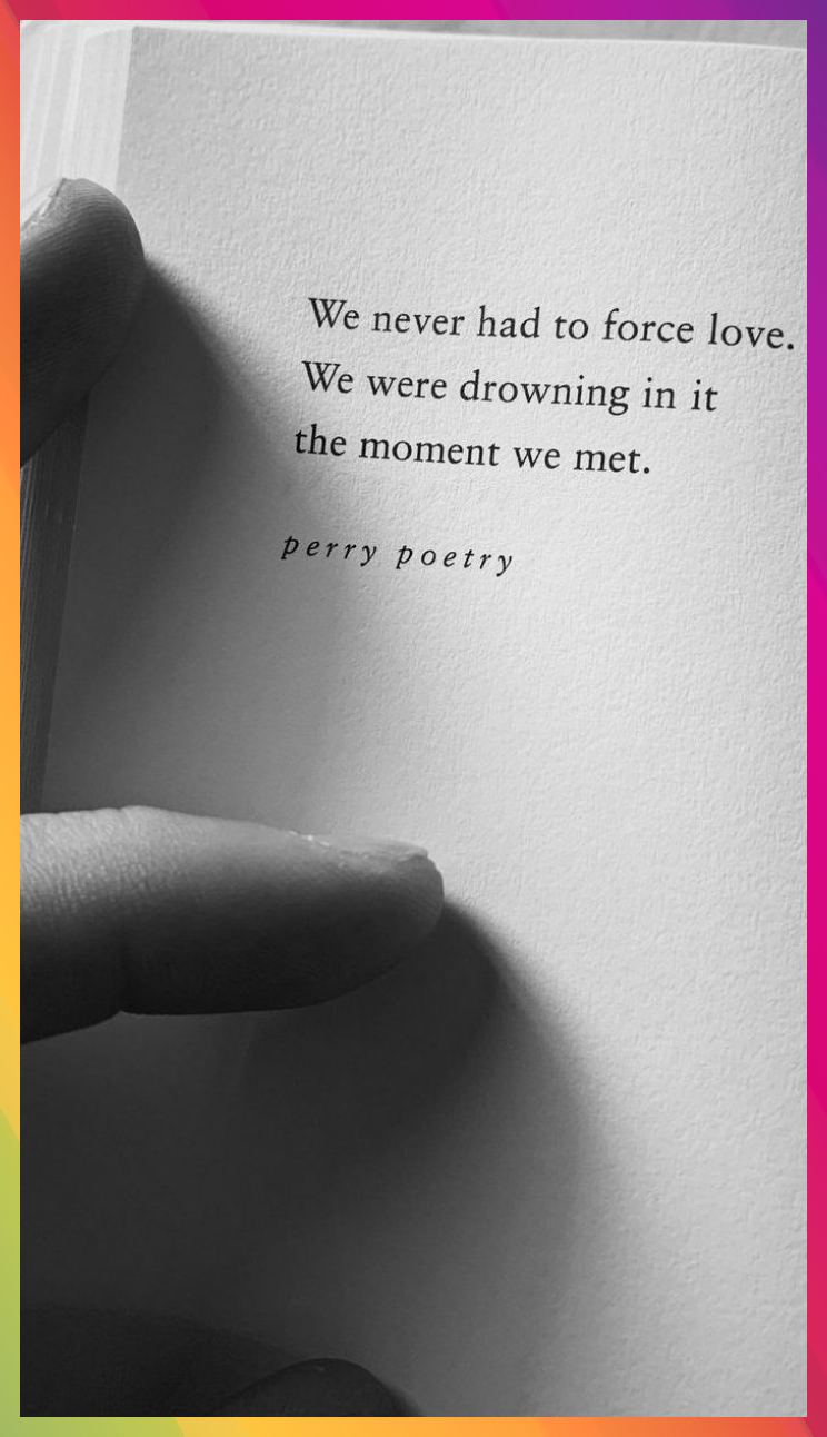 follow Perry Poetry on instagram for daily poetry