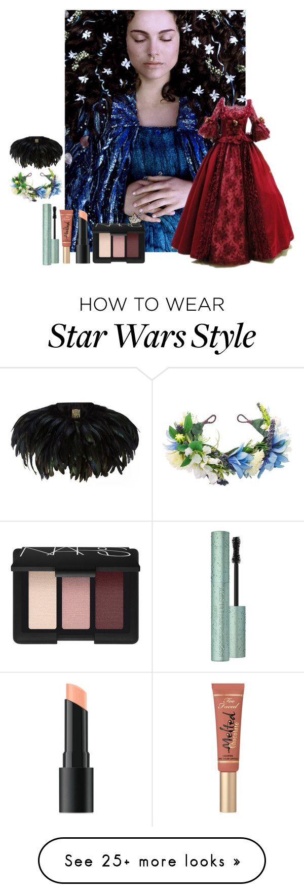 """Dead or alive."" by ofmonstersandmen1 on Polyvore featuring Too Faced Cosmetics, Bare Escentuals, NARS Cosmetics and Biba"