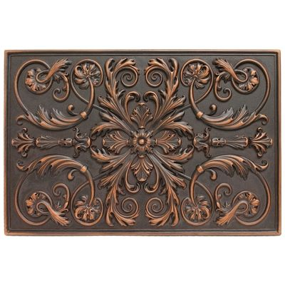 Soci Metal Resins Tile Plaque Ssgv 1221 Kitchen Backsplash Medallion Or Bathroom Wall Accent