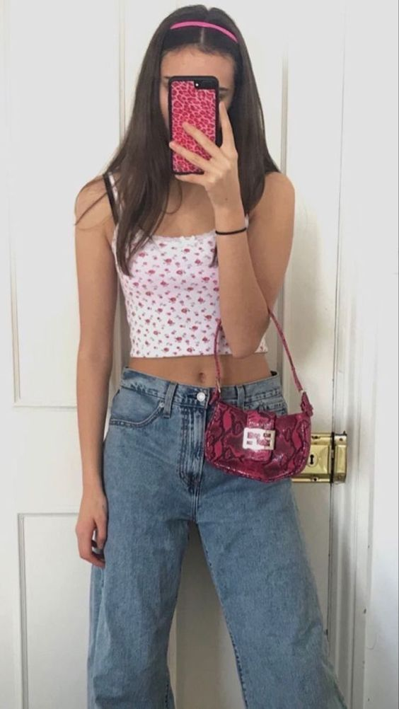 30 Summer Outfits With Crop Top – Croptop Outfits | Cute Casual Outfits For Summer | Casual Cute