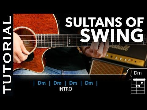 Cómo Tocar Sultans Of Swing De Dire Straits En Guitarra Acústica Fácil Guitarraviva Youtube Sultans Of Swing Dire Straits Swing