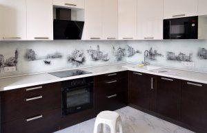 Скинали для кухни: фото - - 22789 | Кухня, Интерьер, Дом