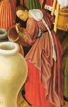 1445-1452 Bernat Martorell, Altar of the Transfiguartion Barcelona Cathedral