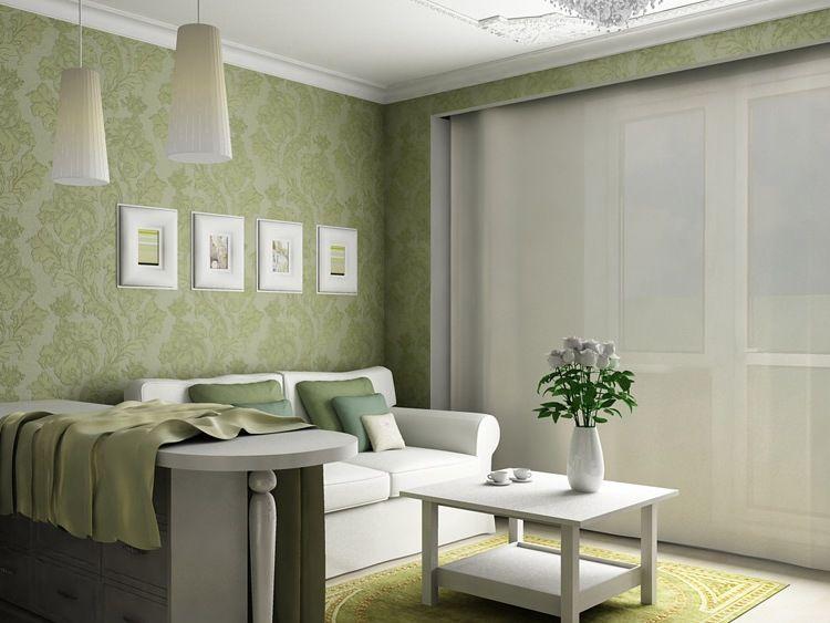 Der Trend, Minimalistischen Wohnzimmer Tapete #Wohnzimmermöbel - tapeten wohnzimmer