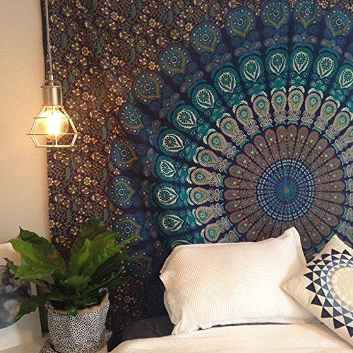 Tapiz Hindú Para Pared Con Diseños Mandala   Price $3190 \ FREE
