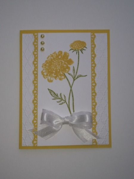 stampin up field flowers by rainyboxcrafts