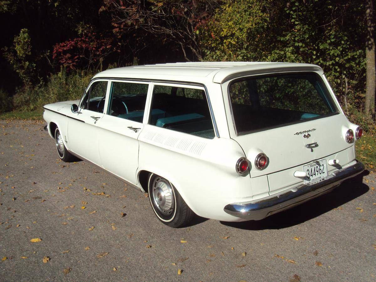 1962 Chevrolet Corvair For Sale 2129471 Hemmings Motor News Chevrolet Corvair Chevrolet Station Wagon Cars