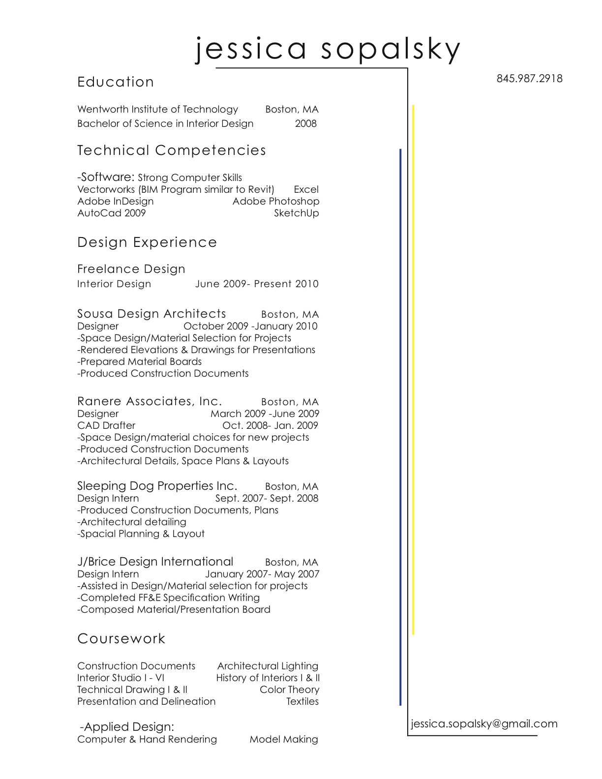 Download My Resume Reentrycorps