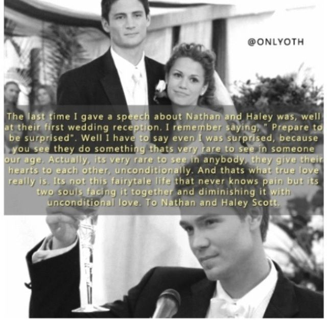 naley wedding speech