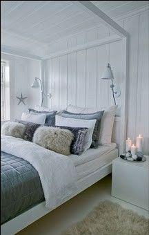 Lichte Slaapkamer | Summerhouse | Pinterest | Bedrooms, Cabin and ...