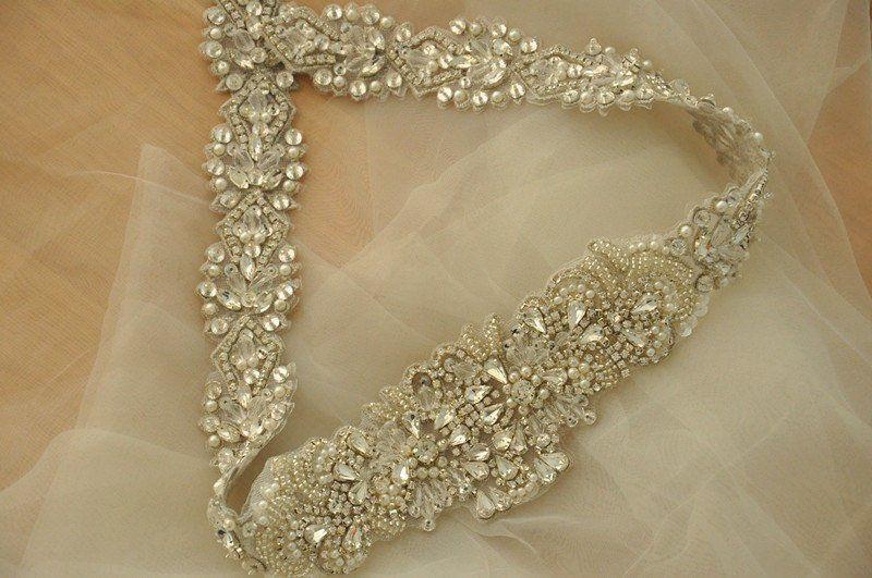 Super luxury rhinestone applique crystal applique rhinestone