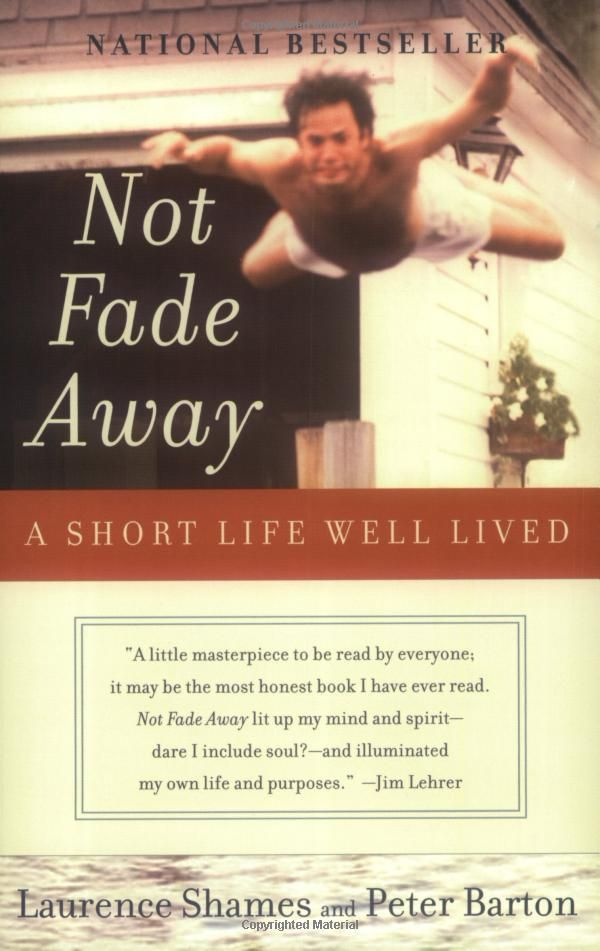 book summary not fade away by shames and barton