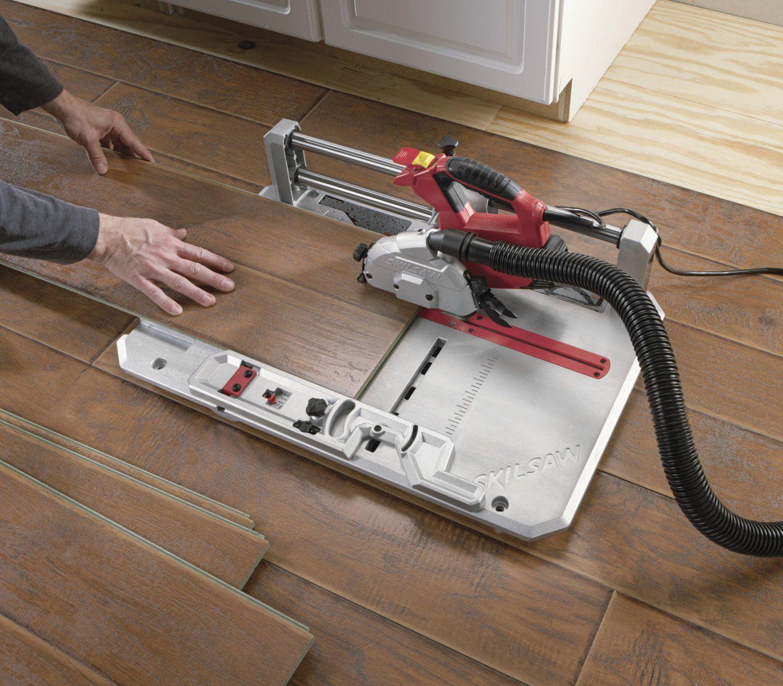 Skil 3601 02 Flooring Saw With 36t Contractor Blade Amazon Com Best Laminate Laminate Flooring In Kitchen Wood Floor Installation