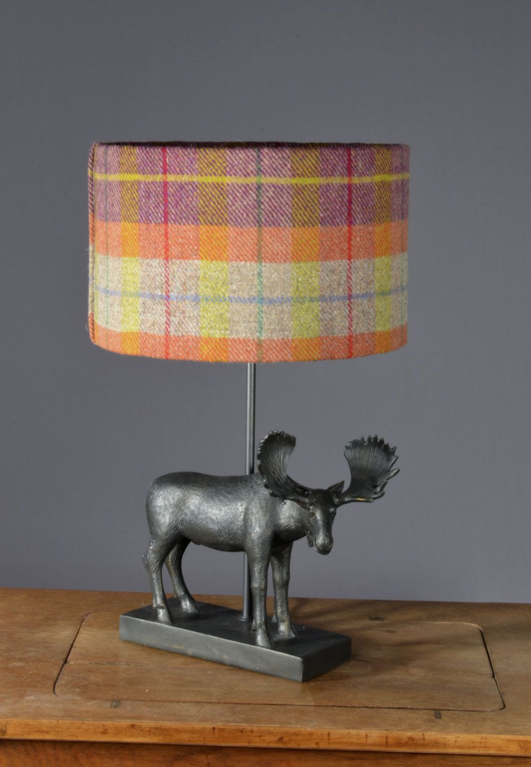Harris tweed drum lampshade interiors pinterest harris tweed harris tweed drum lampshade aloadofball Choice Image