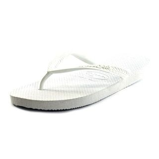 6d0dab4da Shop for Havaianas Top Women Open Toe Synthetic White Flip Flop Sandal.  Free Shipping on orders over  45 at Overstock.com - Your Online Shoes  Outlet Store!