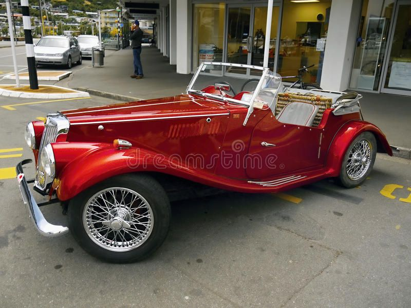 Mg Vintage Cars Sports Cars Mg Vintage Red Sports Car Mg