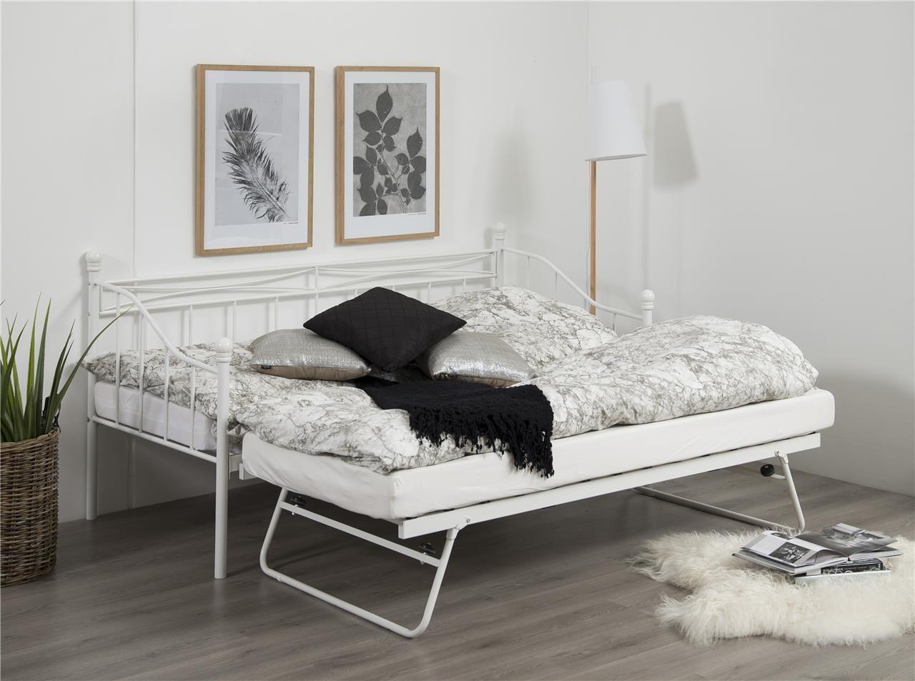łóżko Prince Białe Rozkładane łóżka Do Sypialni W 2019