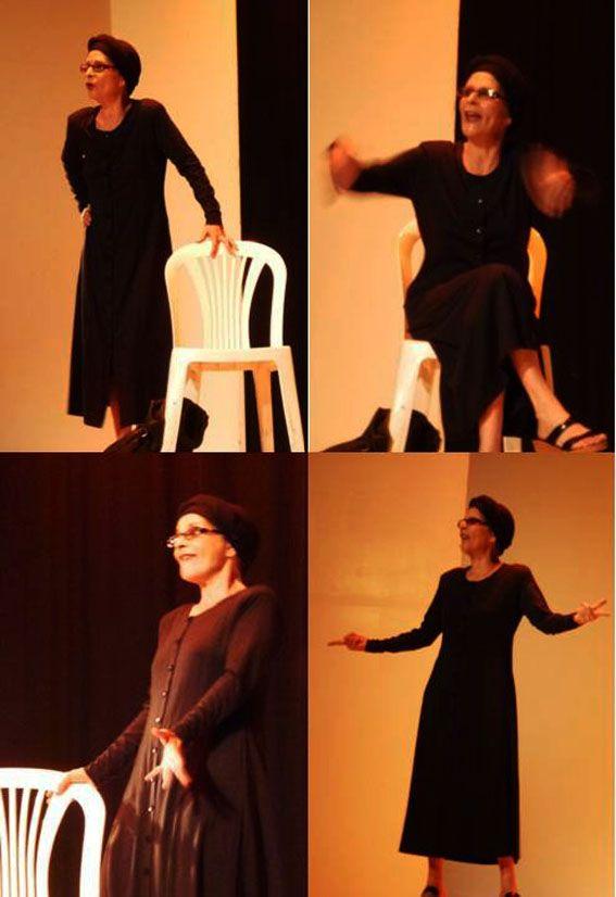 """""""La viuda de Pacheco"""", monólogo escrito y dirigido por Alexander Otaiza e interpretado por Yma Grossvater. Próximamente representará al Estado Aragua en Festival Nacional."""