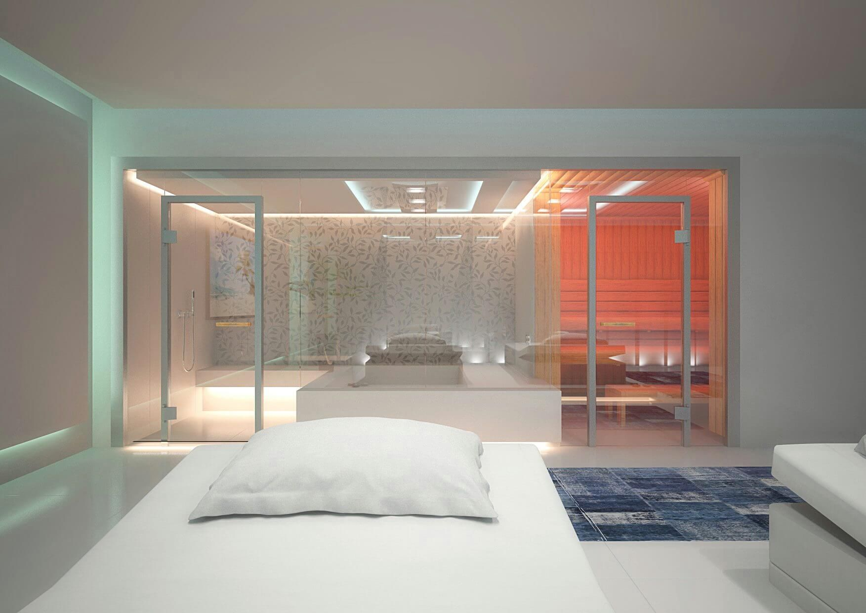 Heaven private Spa Design by Torsten Mueller Cologne 3D Artist Franz ...
