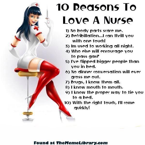 Sexy nurse jokes