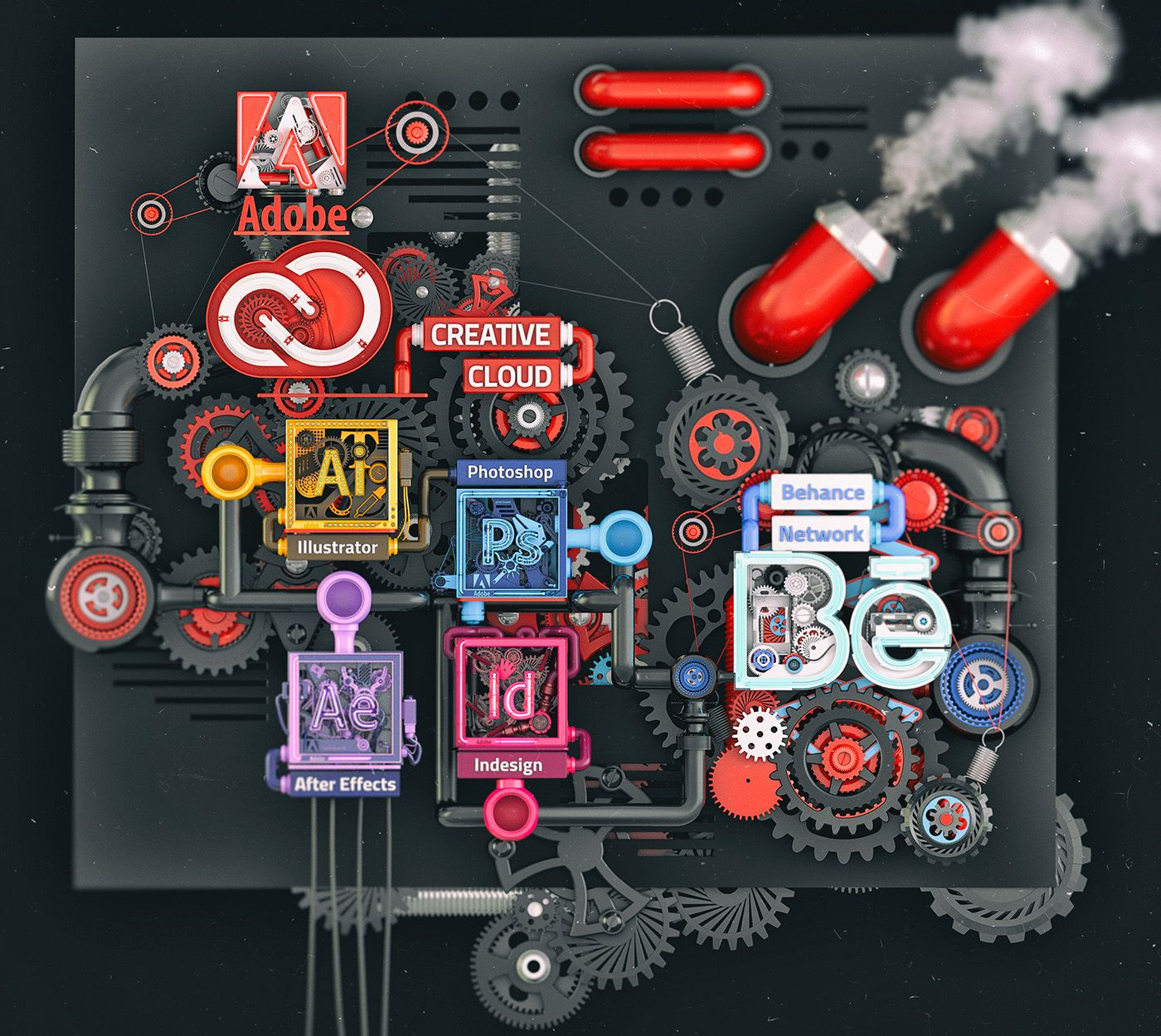 Creative Cloud Gives You The World S Best Creative Tools After My Adobe Neo Cube Series I Wanted To Combine Creative Cloud Adobe Creative Cloud Adobe Creative