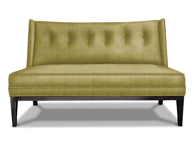 Sofa Beds Jonathan Adler Morrow Settee in Sofas Chaises And Loveseats
