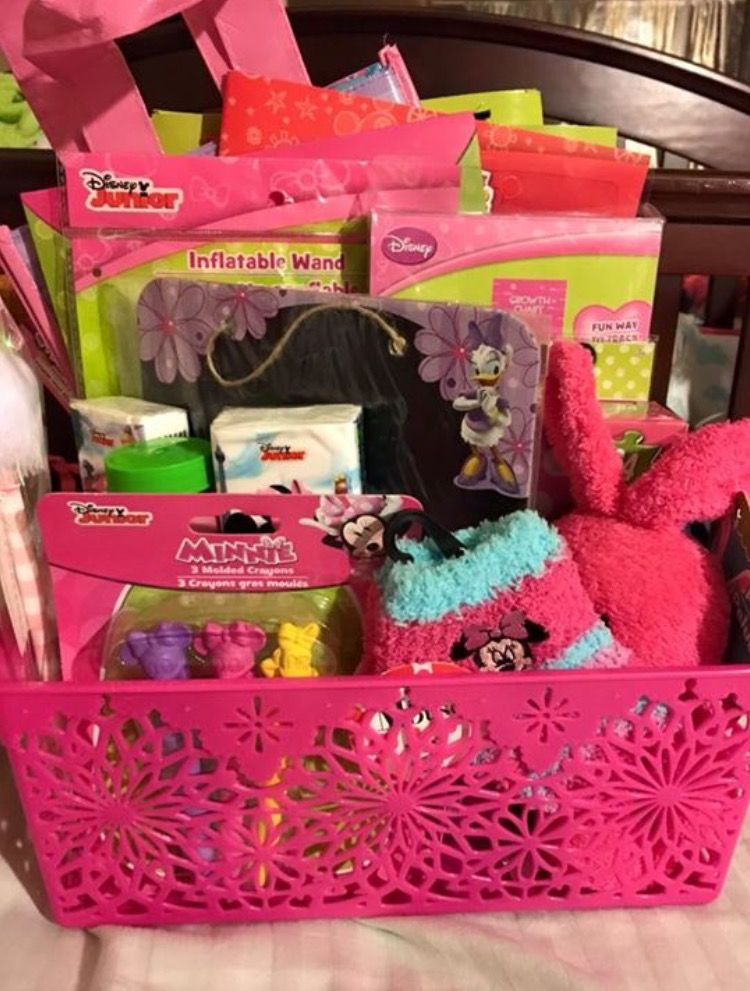 Easter Baskets Made From Dollar Tree Stuff Kids Easter Basket Dollar Tree Gifts Kids Gift Baskets